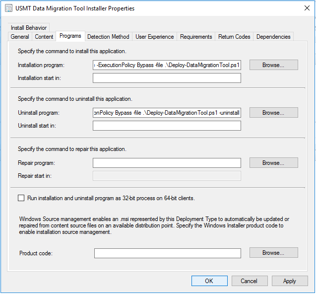 USMT GUI with PowerShell: Use PSADT to present an USMT GUI