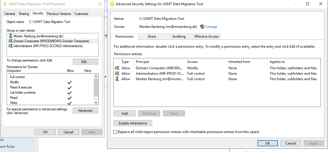 Usmt Gui With Powershell Use Psadt To Present An Usmt Gui